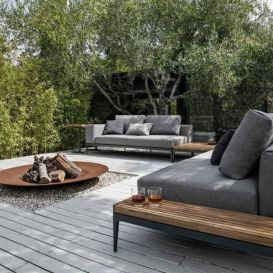 Classic mainstay of an outdoor space with the fire pit many of us would spend fond evenings relaxing around the fire Part 18