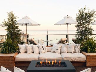 Classic mainstay of an outdoor space with the fire pit many of us would spend fond evenings relaxing around the fire Part 19