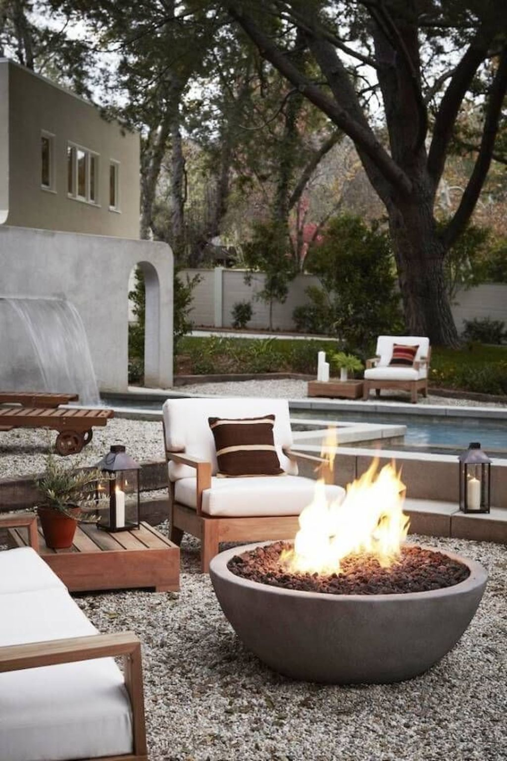 Classic mainstay of an outdoor space with the fire pit many of us would spend fond evenings relaxing around the fire Part 21