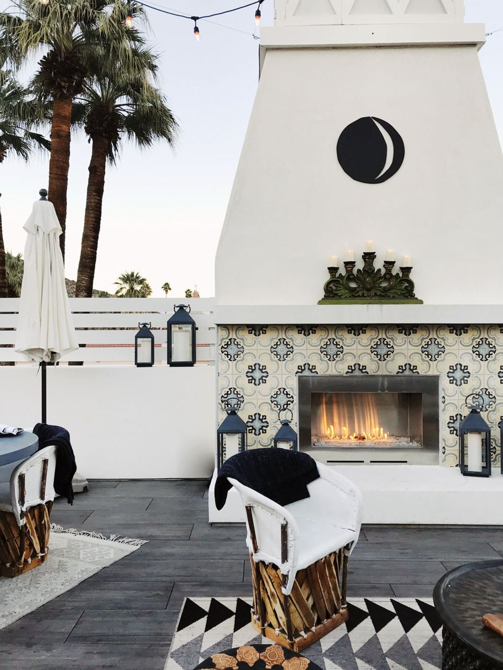 Classic mainstay of an outdoor space with the fire pit many of us would spend fond evenings relaxing around the fire Part 27
