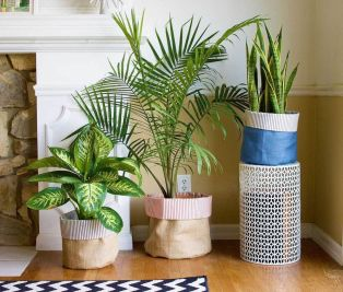Creative DIY Planter designs out of scrap materials for inspiration Part 24