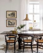 Dazzling transitional light fixtures to give more value of the dining room designs Part 10