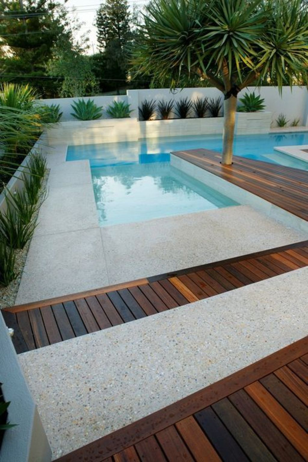 Inground tiny swimming pool in a small backyard that pick the best shape Part 1