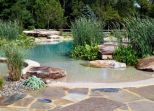 Natural swimming pools designs using plants or a combination of plants and sand filters Part 15
