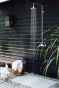Outdoor showers and bath perfect for beach homes cabins and tropical climates Part 8