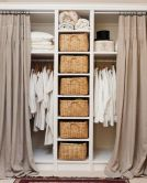 Small Space Closet Designs with Neat and Effective Organization Tricks (21)