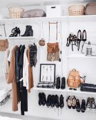Small Space Closet Designs with Neat and Effective Organization Tricks (29)