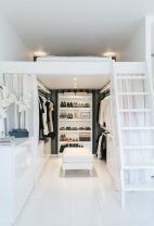 Small Space Closet Designs with Neat and Effective Organization Tricks (32)