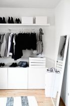Small Space Closet Designs with Neat and Effective Organization Tricks (36)