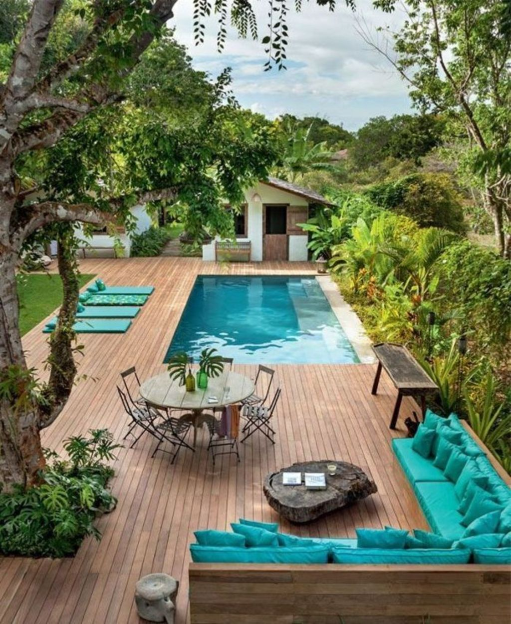 Small swimming pools made for small spaces and tight budgets Part 35
