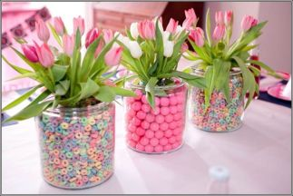 Spring and Easter tablesetting ideas and tablescapes brunch mothers day and springtime table setting ideas Part 11