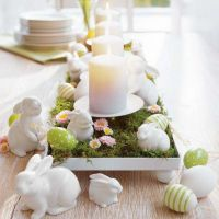 Spring and Easter tablesetting ideas and tablescapes brunch mothers day and springtime table setting ideas Part 20