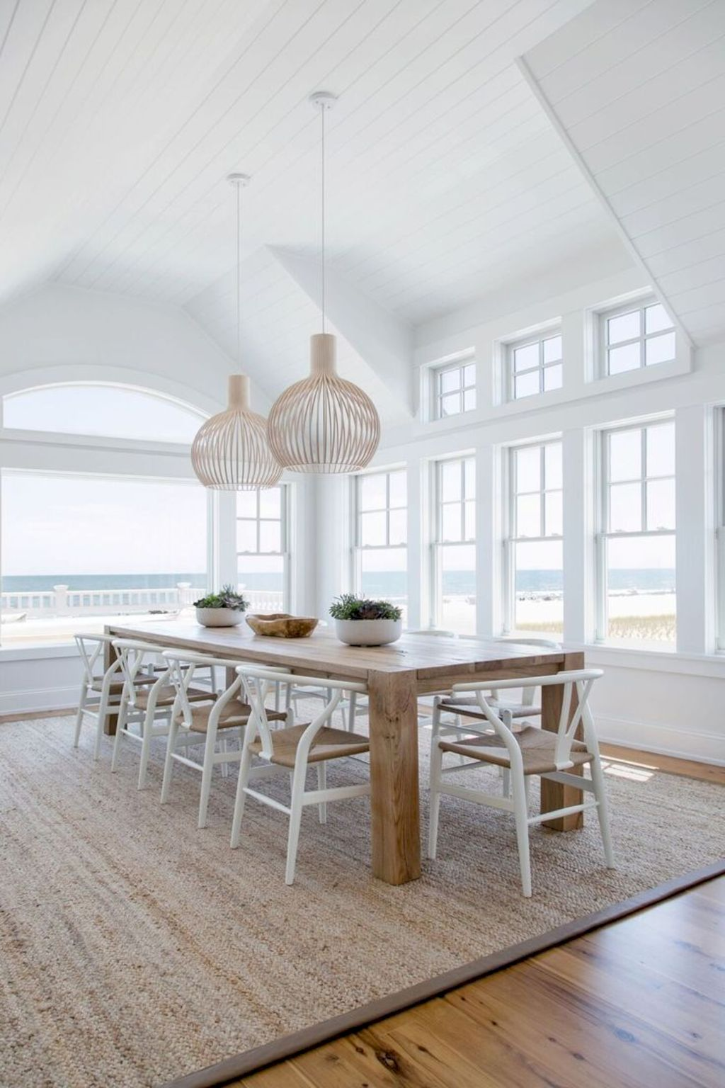 Beach home dining room style giving a fresh vibe among inviting recreational interior update Image 10