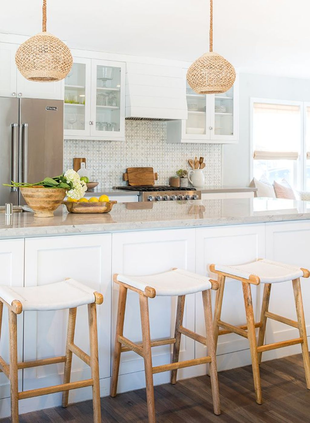Beach home dining room style giving a fresh vibe among inviting recreational interior update Image 14