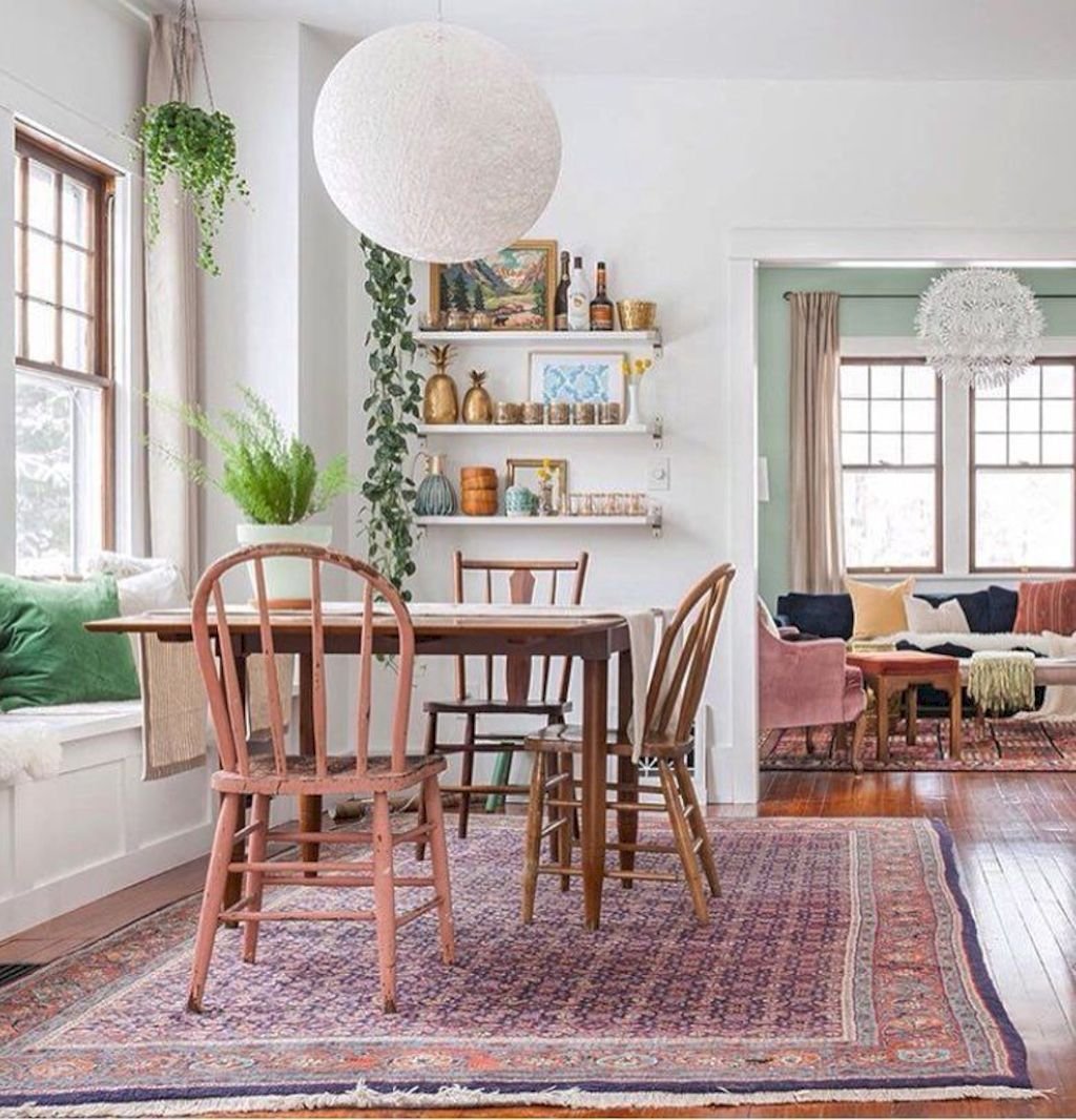 Beach home dining room style giving a fresh vibe among inviting recreational interior update Image 15