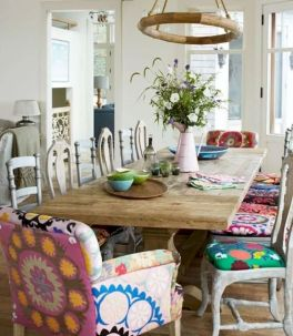 Beach home dining room style giving a fresh vibe among inviting recreational interior update Image 16