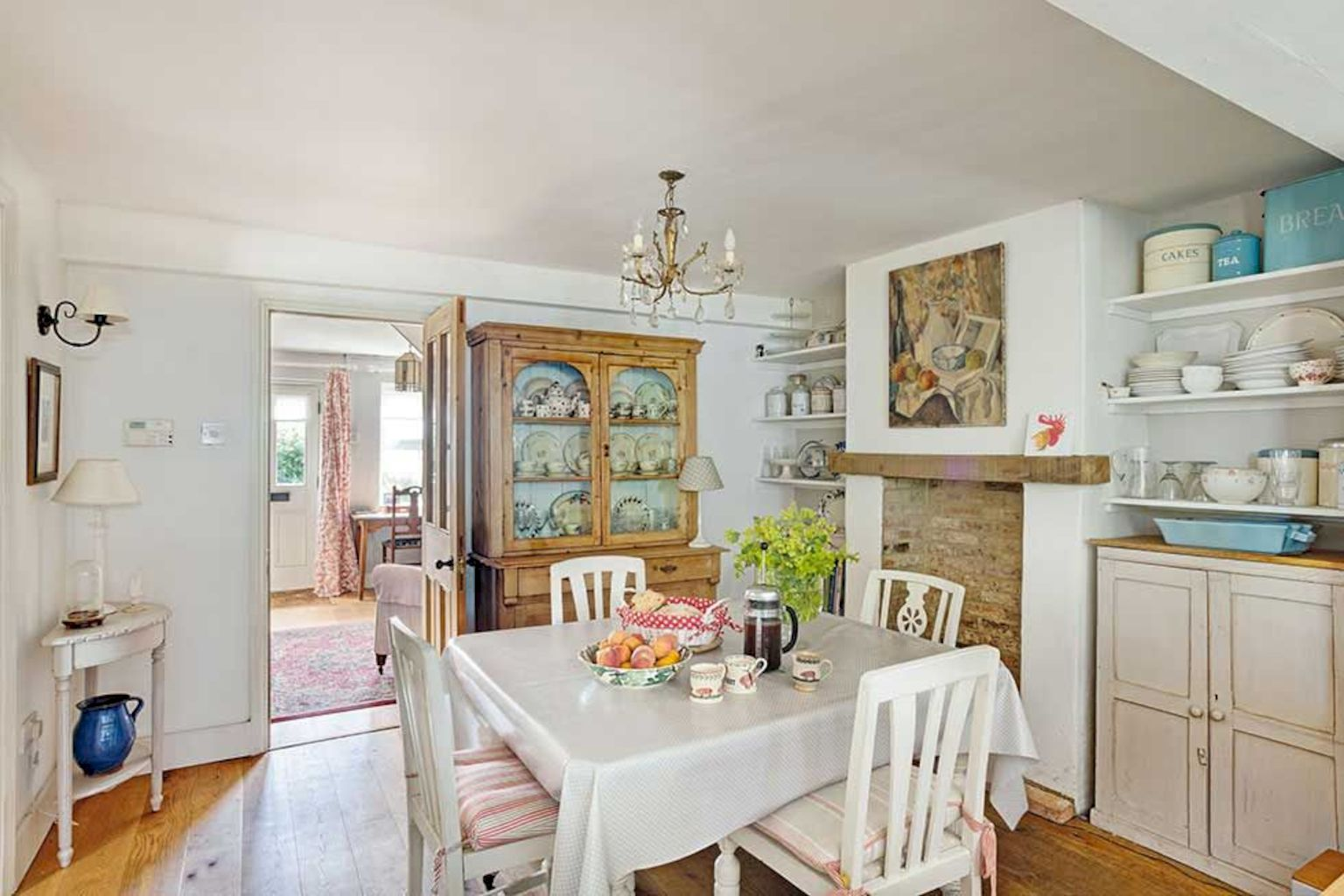 Beach home dining room style giving a fresh vibe among inviting recreational interior update Image 5