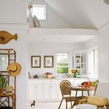 Beach home dining room style giving a fresh vibe among inviting recreational interior update Image 7
