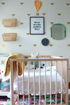 Best collection of inspirational kids bedroom decor schemes that feature beautiful pastel color palettes and unisex kids room ideas Image 12