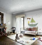 Best collection of inspirational kids bedroom decor schemes that feature beautiful pastel color palettes and unisex kids room ideas Image 8
