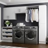 Classy laundry room update with first class finishing to make a functional room that looks elegant and stylish Image 10