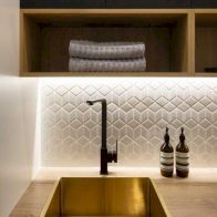 Classy laundry room update with first class finishing to make a functional room that looks elegant and stylish Image 20