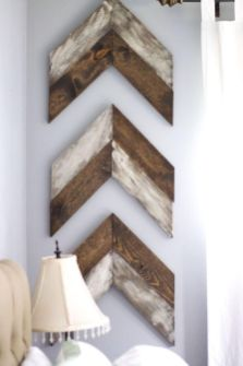 Clever rustic touch exploiting wood pallets wall accent that enhances contemporary home update and also effective in twisting decoration style Image 10