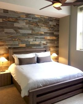Clever rustic touch exploiting wood pallets wall accent that enhances contemporary home update and also effective in twisting decoration style Image 11