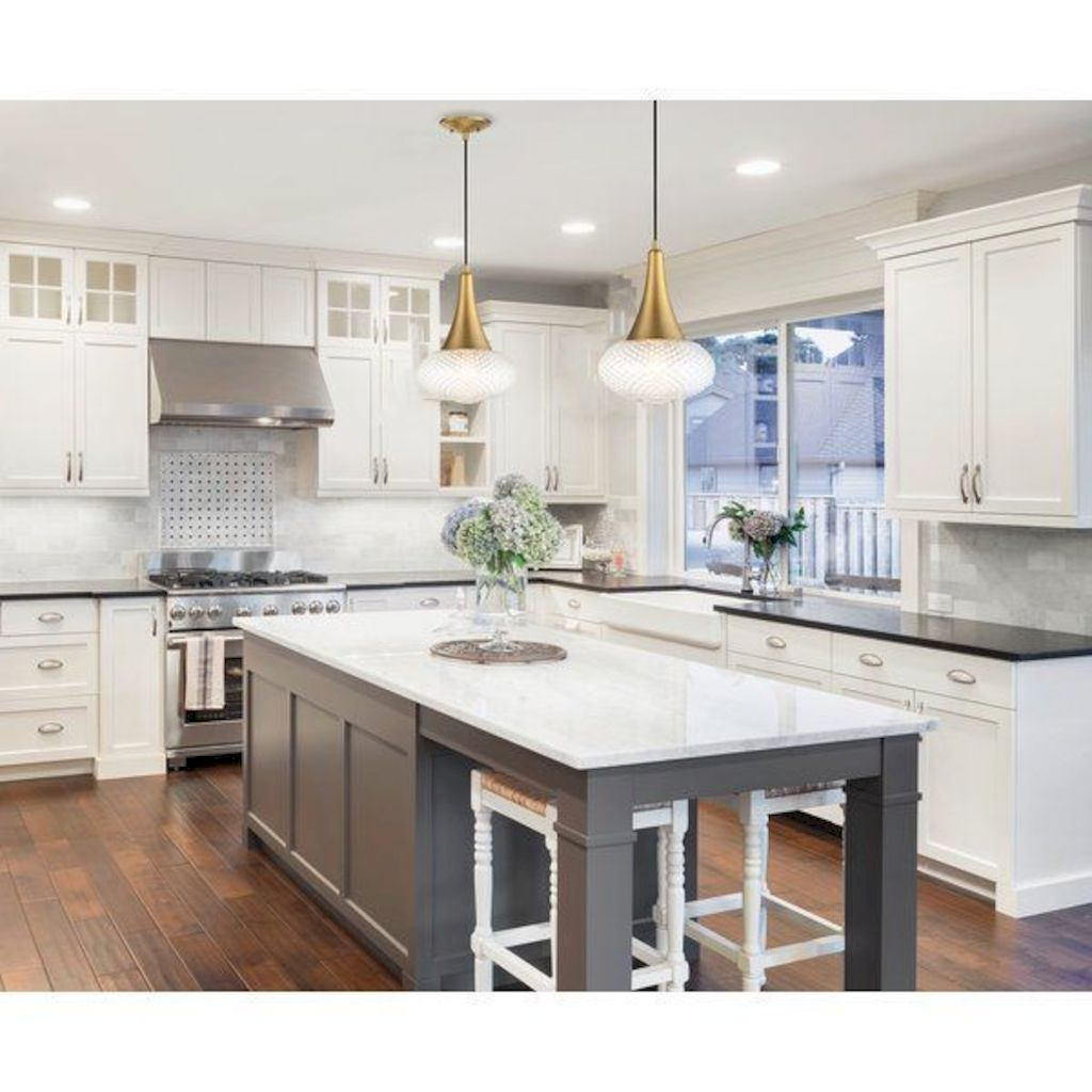 Clever way to add more function in a kitchen with kitchen island table combo providing efficient and effective update for your beautiful kitchen design Image 33