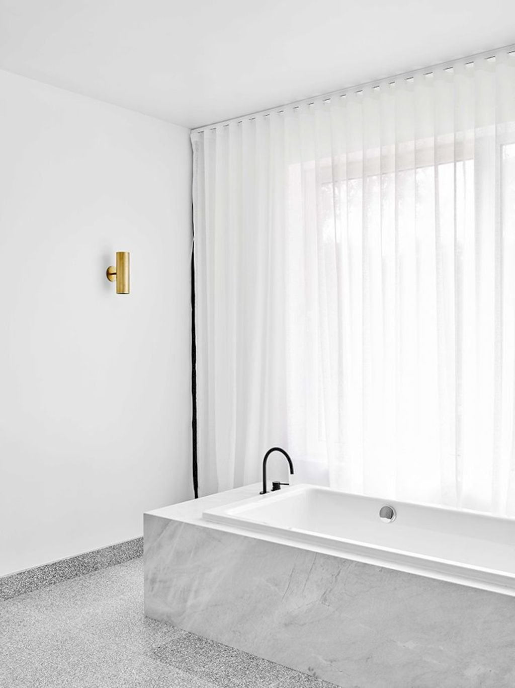Creative bathroom updates mixing modern trend with simple 60s terrazzo style giving a brilliant contemporary balance Image 15