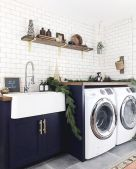 Easy tricks to make a Scandinavian style laundry room which will give a perfect refreshment in simple and sleek designs Image 9