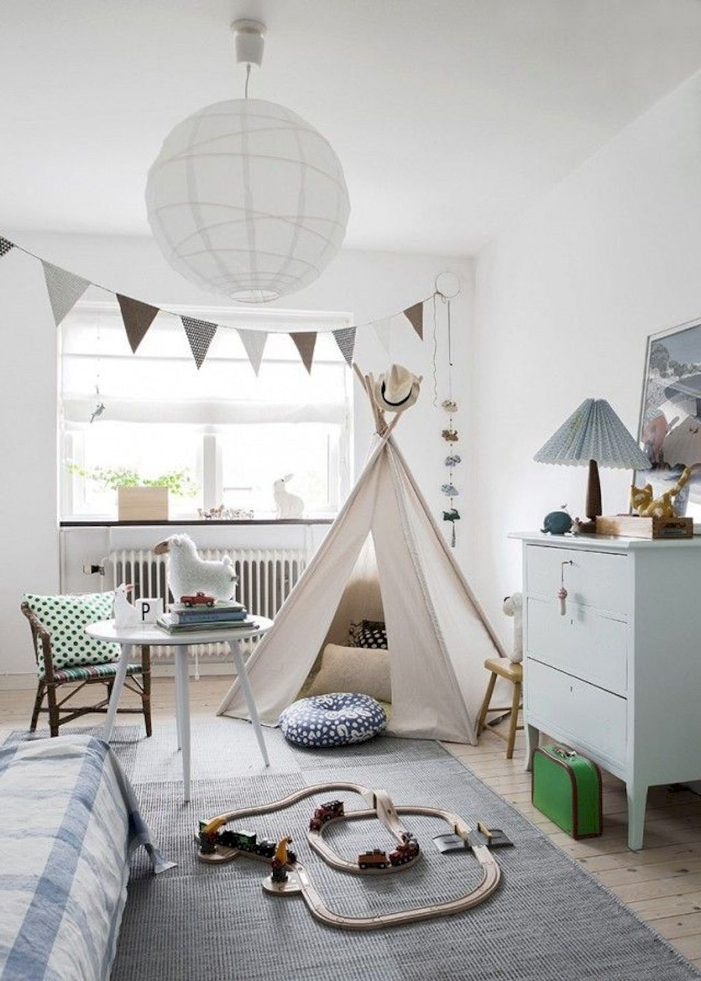 Fun and stylish play spaces for children looking best with modern and simple concepts that fit in any small space Image 1