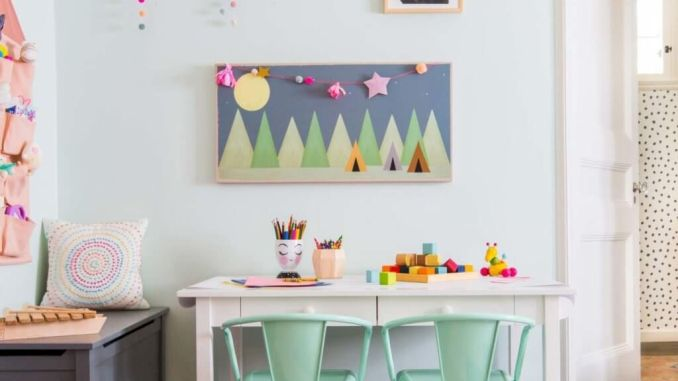 Fun and stylish play spaces for children looking best with modern and simple concepts that fit in any small space Image 10