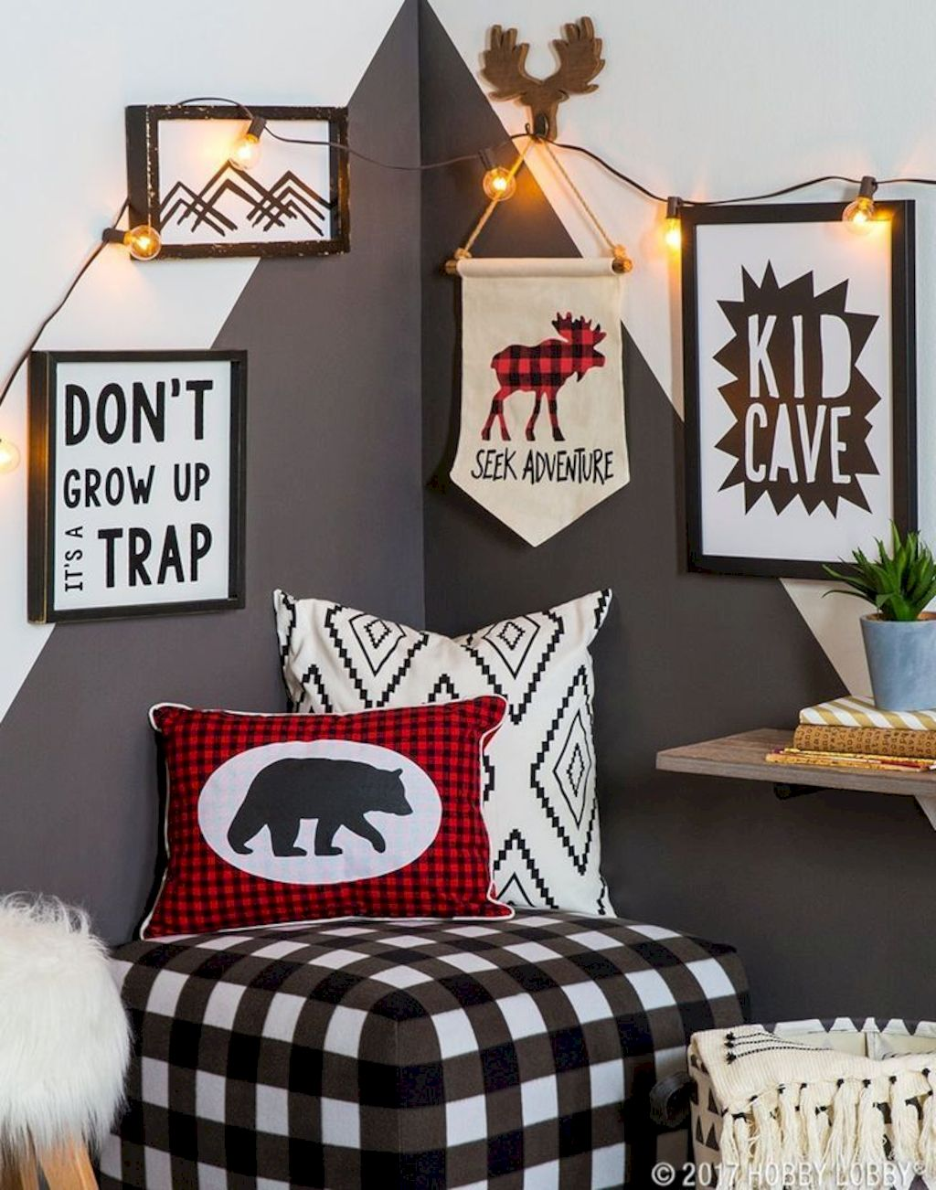 Fun and stylish play spaces for children looking best with modern and simple concepts that fit in any small space Image 5