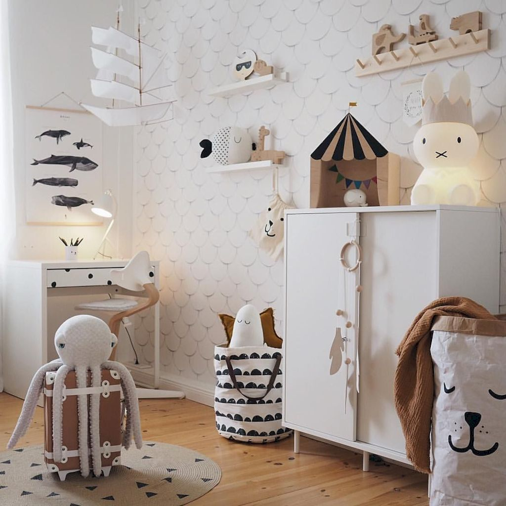Fun and stylish play spaces for children looking best with modern and simple concepts that fit in any small space Image 7