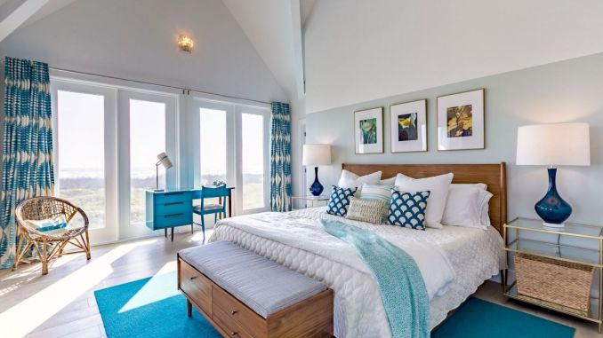 Refreshing home design with a coastal living theme and beach house style perfect inspirations for summer home updates Image 45