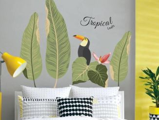Refreshing sticker art wall decal giving floral accessories refreshing kids and nursery rooms wall design ideas Image 32