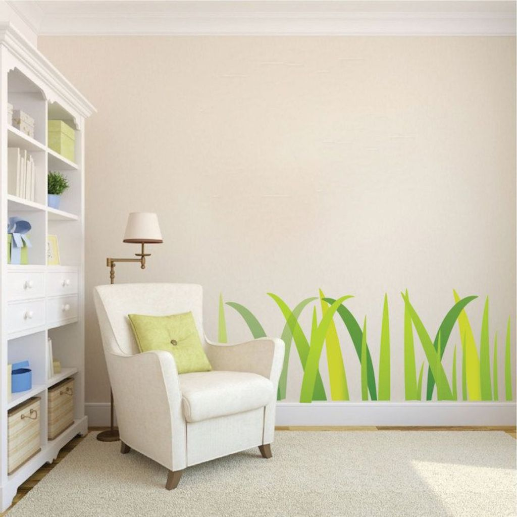 Refreshing sticker art wall decal giving floral accessories refreshing kids and nursery rooms wall design ideas Image 35