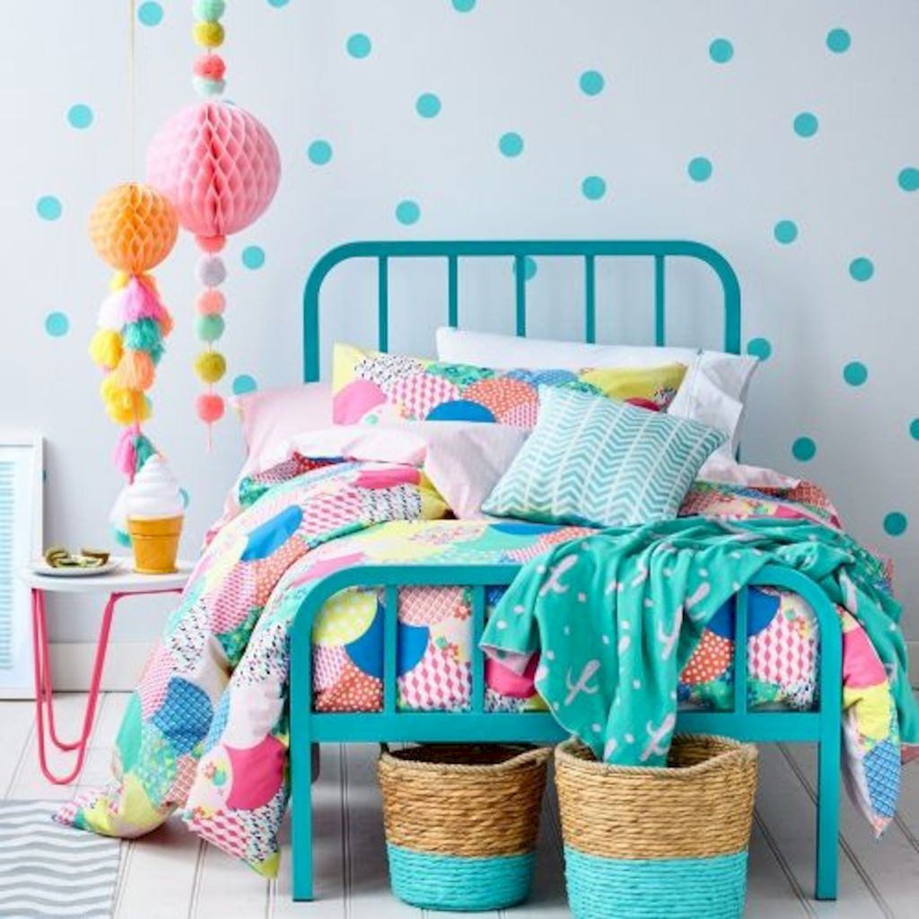 Shabby chic childrens rooms and nurseries with simple and beautiful decorations Image 29