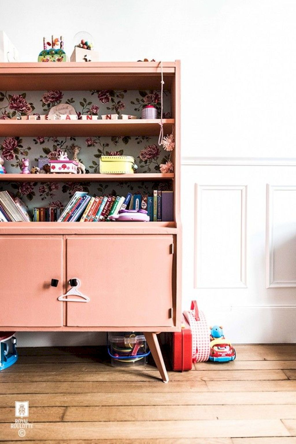 Shabby chic childrens rooms and nurseries with simple and beautiful decorations Image 33