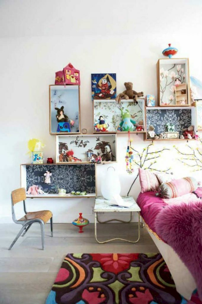 Shabby chic childrens rooms and nurseries with simple and beautiful decorations Image 38