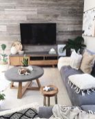 Smart interior upgrade showing wood pallets wall accent that looks amazing in a modern home which includes traditional and rustic element mixing Image 35