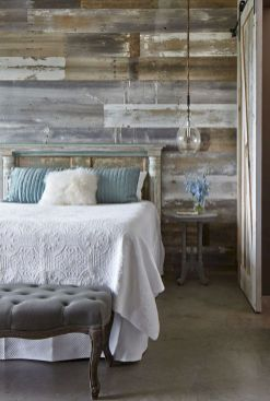 Smart interior upgrade showing wood pallets wall accent that looks amazing in a modern home which includes traditional and rustic element mixing Image 42