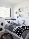 Warm and lovely kids bedroom decoration using a soft color combination showing a neutral scheme that looks beautiful and adorable Image 20