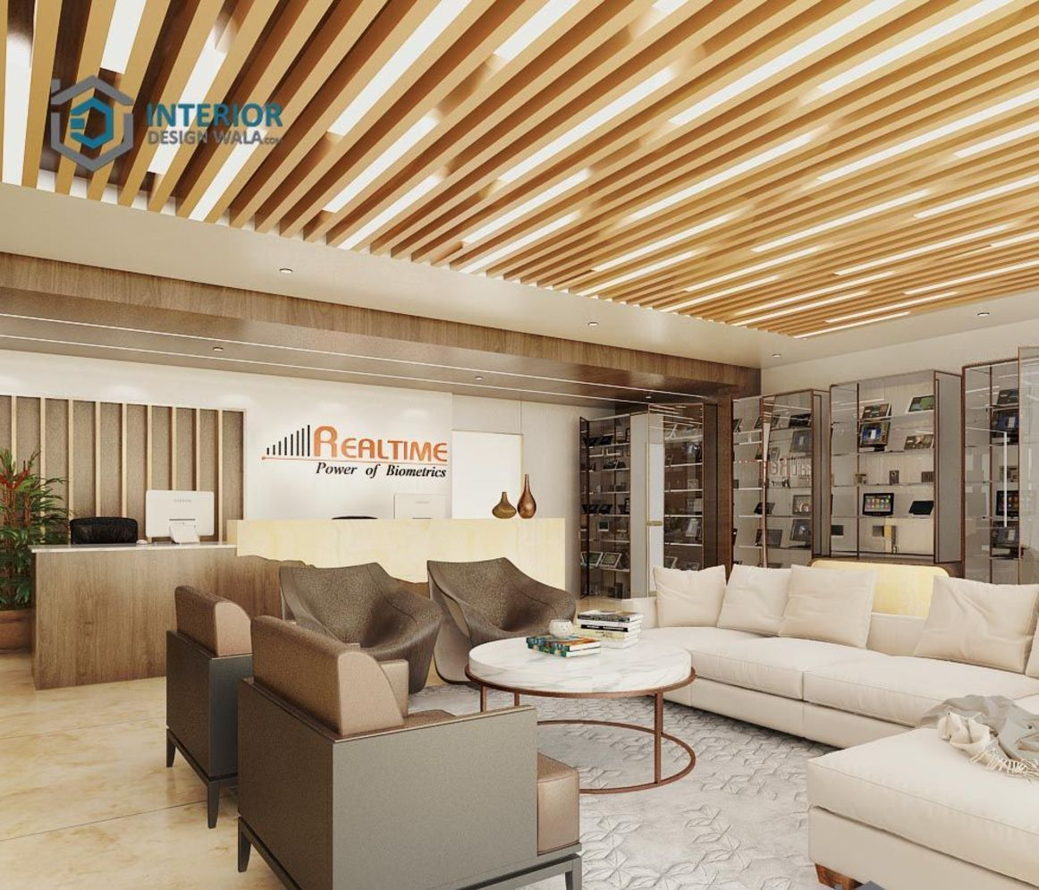 Amazing office interior ideas with unique and unconventional false ceiling designs Image 8