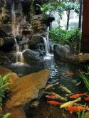 Amazing waterfall ideas giving the best look and panoramic schemes for your landscaping style Image 1
