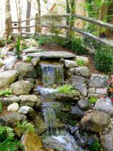 Amazing waterfall ideas giving the best look and panoramic schemes for your landscaping style Image 13