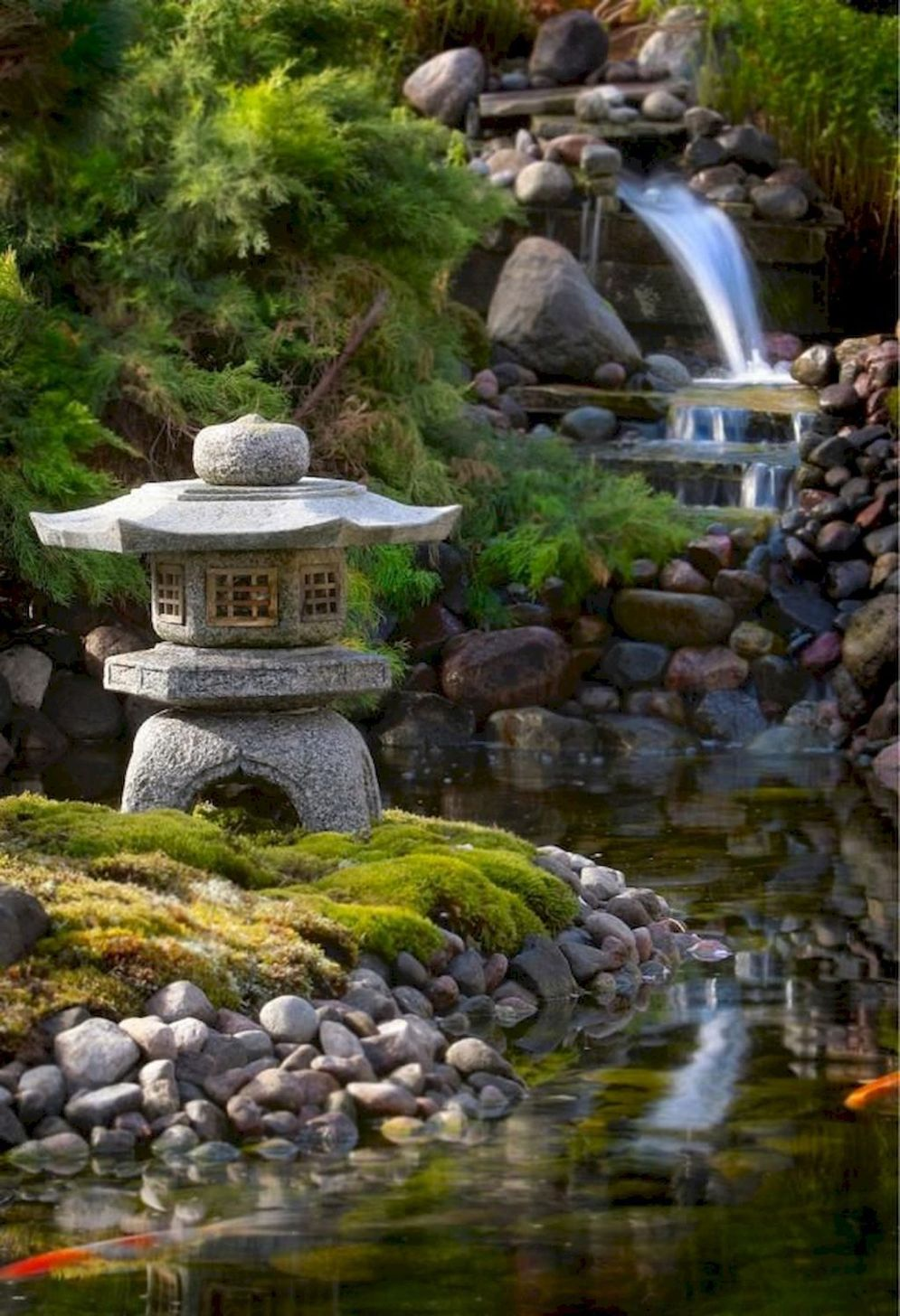 Beautiful Zen garden style with peaceful arrangements creating peaceful and harmonies display that will calm our mind Image 24