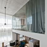 Bright home concepts with modern style of glass partition giving vast interior sense of space Image 2