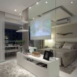 Bright home concepts with modern style of glass partition giving vast interior sense of space Image 20